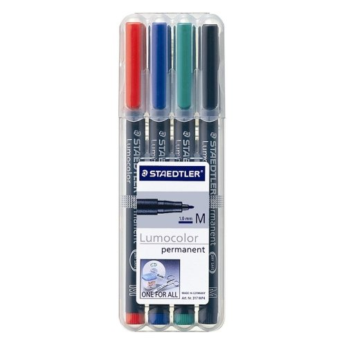 Staedtler Lumocolor Permanent Pen 317WP4