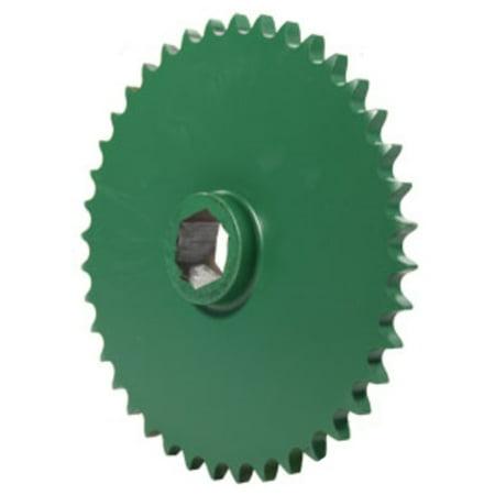 AE39654 New Round Baler Upper Drive Roll Sprocket For John Deere 330 335  375 +