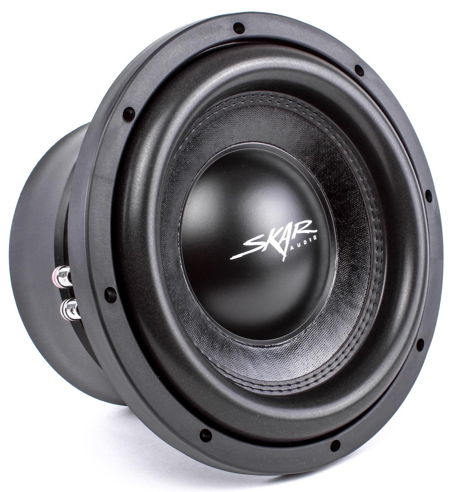 "Skar Audio DDX-10 D4 10"" 1500W Max Power Dual 4 Car Subwoofer"