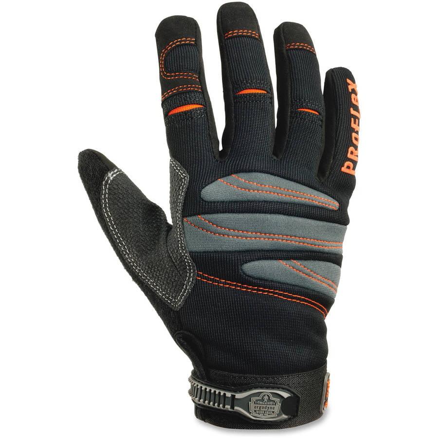 ProFlex 710 Full-Finger Trades Gloves, Black