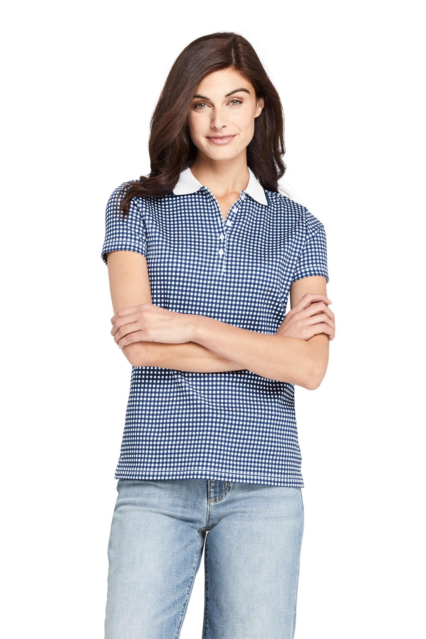 Women's Short Sleeve Supima Polo T-Shirt