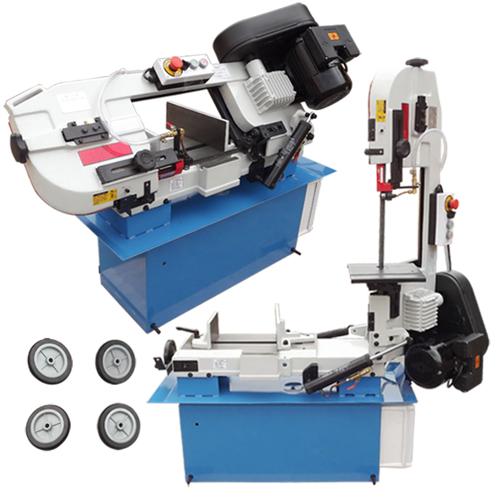7x12 Band Saw Horizontal Vertical Metal Cutting by PROLINEMAX