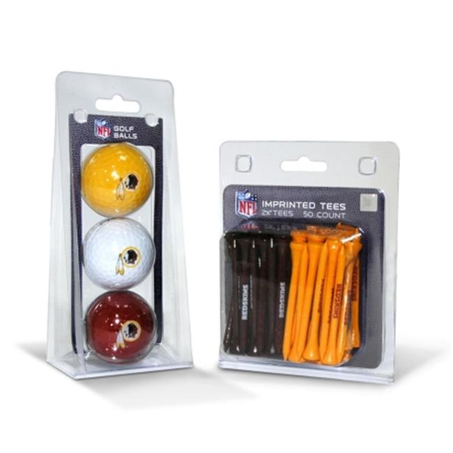 Team Golf 3 Ball Pack and 50 Tee Pack