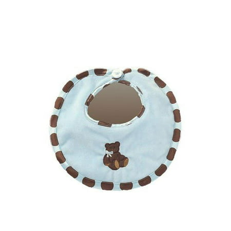 Bearington Baby - Posh Dots Bib (Blue)