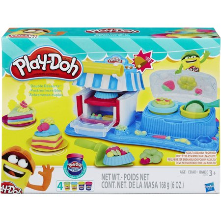 Play Doh Sweet Shoppe (Play-Doh Sweet Shoppe Double Desserts Food Set with 4 Cans of)