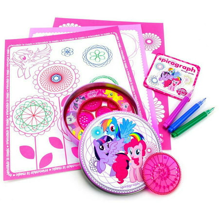 Kahootz Toys The Original Spirograph Design Tin, My Little Pony](Spirograph Game)