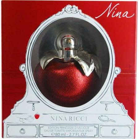 Nina Ricci Eau de Toilette Spray, Nina, 2.7 Ounce