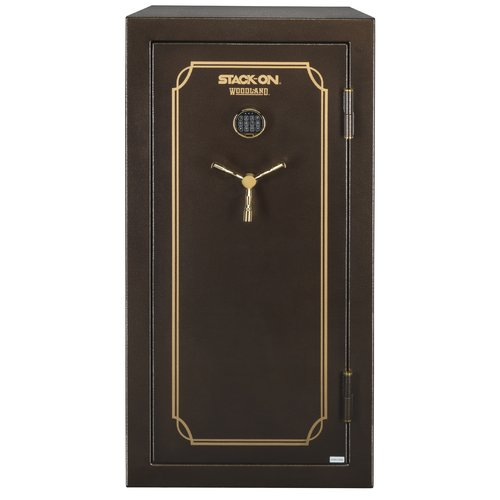 Woodland 40-Gun Safe with Electronic Lock and Door Storage