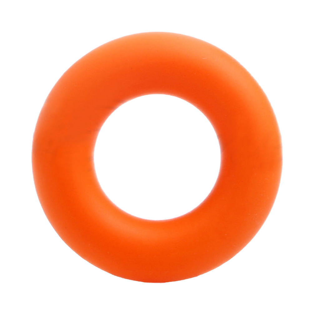 Strength Finger Hand Grip Muscle Power Training Rubber Ring Exerciser Silicone