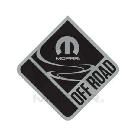 Mopar 82213916 Mopar Off Road Emblem Jeep Cherokee Grand Liberty Wrangler Compass Renegade Patriot Commander