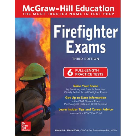 McGraw-Hill Education Firefighter Exams, Third Edition - eBook
