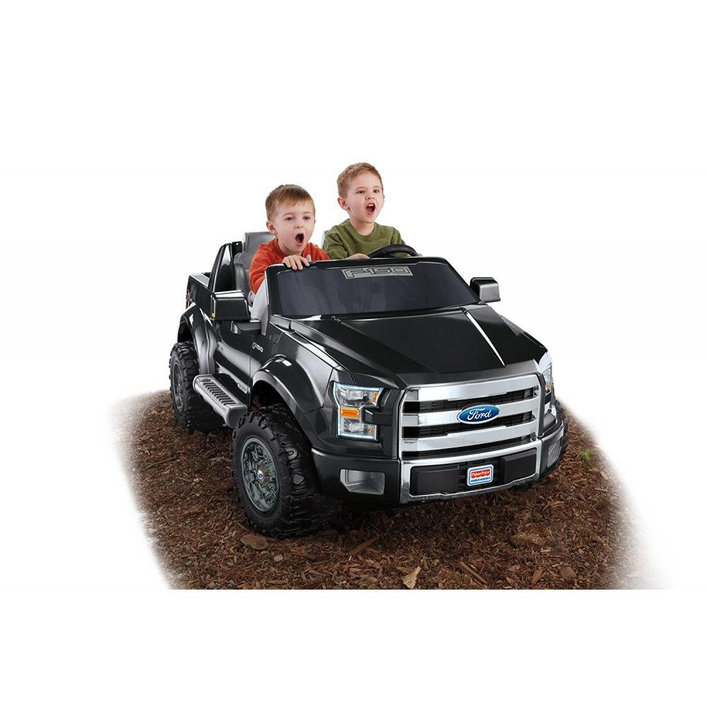 Fisher Price Power Wheels Ford F-150 12-Volt Battery-Powered Ride-On by FISHER PRICE