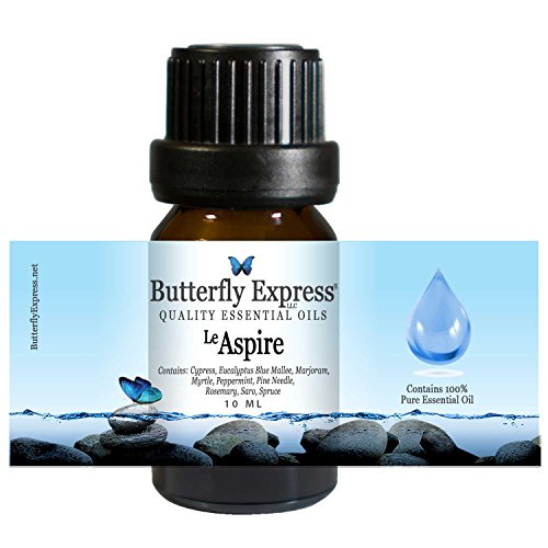 Le Aspire Essential Oil Blend 10ml - 100% Pure - by Butterfly Express