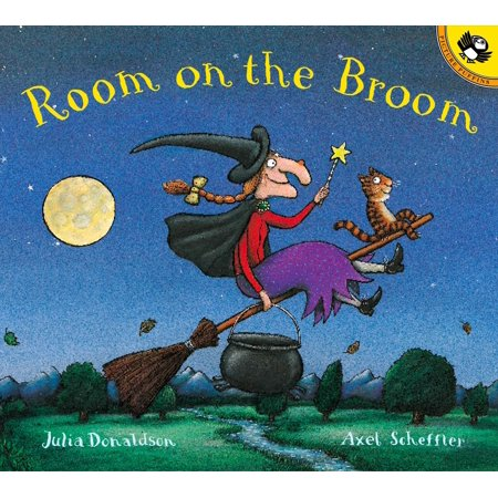 Room on the Broom (Paperback) - Halloween Books For Toddlers