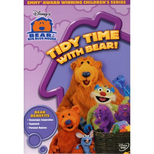 Bear In The  Big Blue House: Tidy Time With Bear! (Full Frame)