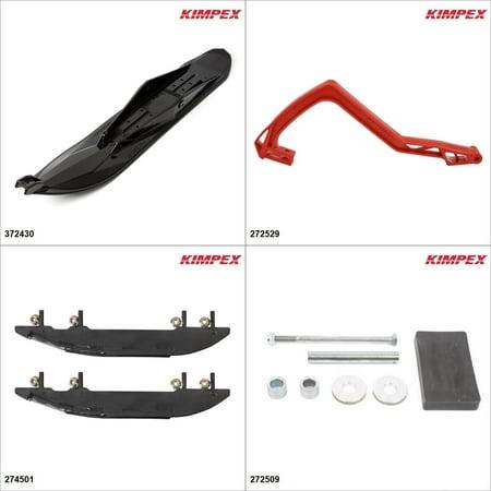 Kimpex - Ski Stealth Kit - Black, Yamaha Apex LTX GT 2008-10 Black / Red