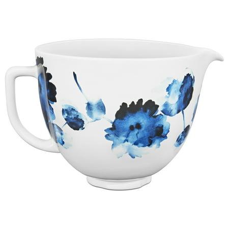 KitchenAid® 5 Quart Ink Watercolor Ceramic Bowl (KSM2CB5PIW)