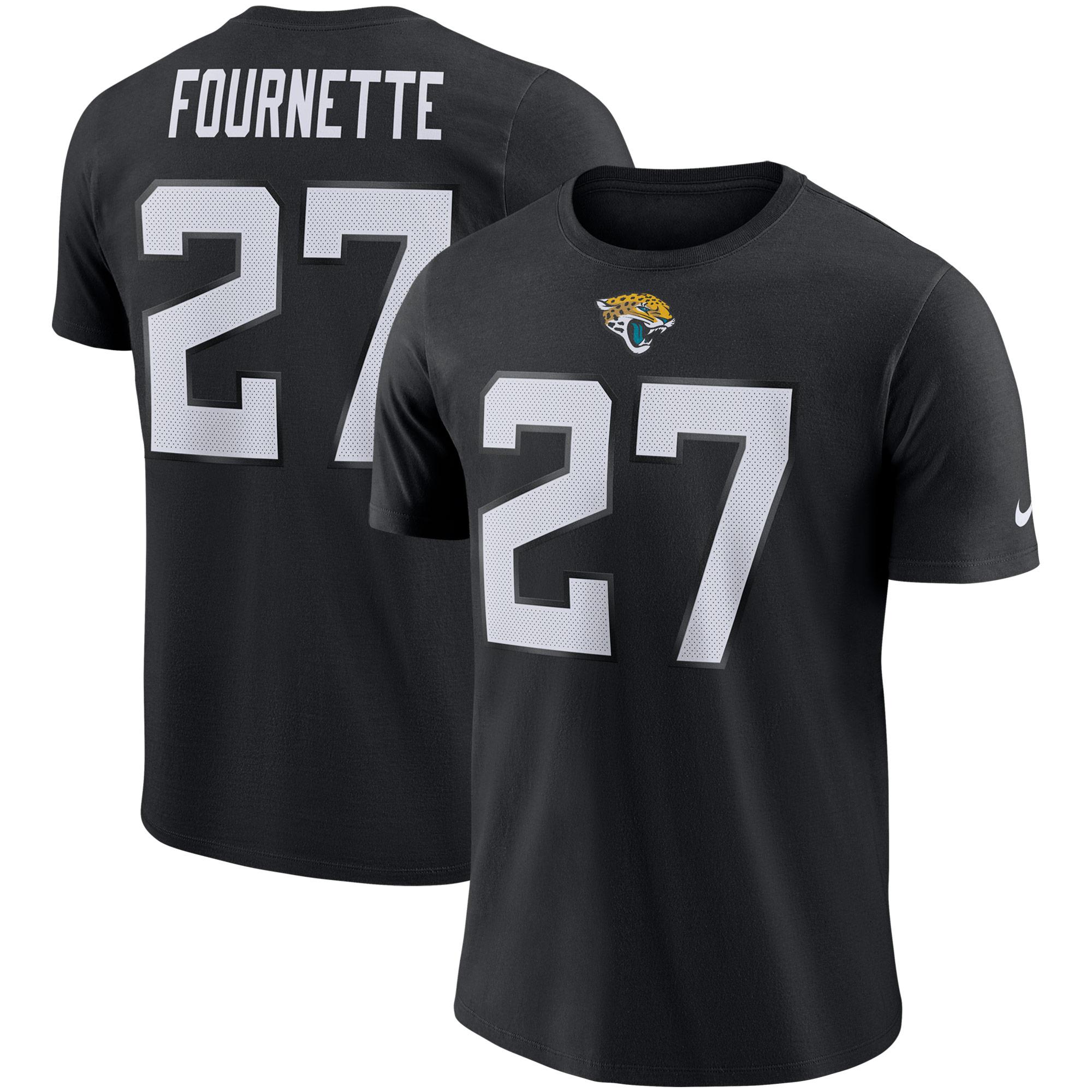 Leonard Fournette Jacksonville Jaguars Nike Player Pride Name & Number Performance T-Shirt - Black