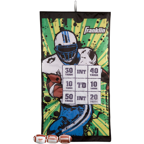 Franklin Sports Football Target IndoorPass Game