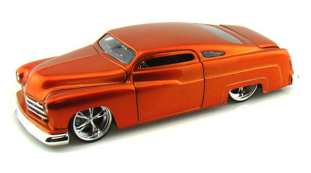 1951 Mercury, Copper Jada Toys Bigtime Kustoms 91740 1 24 scale Diecast Model Toy Car... by Jada