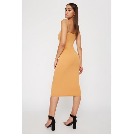 Urban Planet Women's Soft Bodycon Midi Dress - image 1 of 2