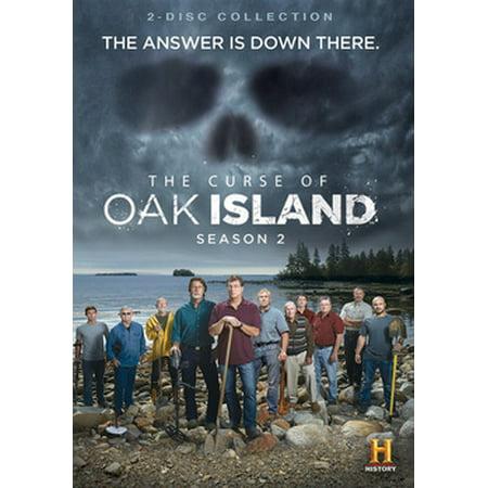 The Curse of Oak Island: Season 2 (DVD) (The Curse Of Sleeping Beauty Part 2)