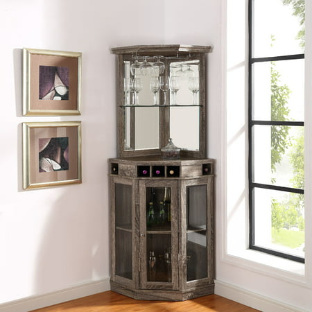 Home Source Madeline Corner Bar Unit ()