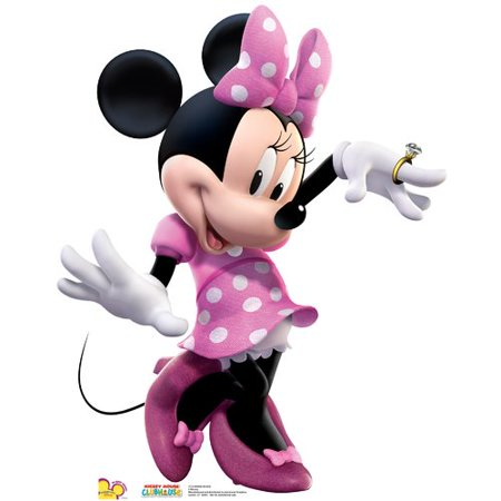 Minnie Dance - Disney's Mickey Mouse Clubhouse - Advanced Graphics Life Size Cardboard Standup