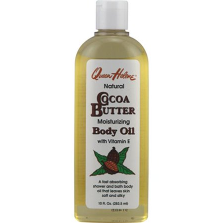 Queen Helene Natural Cocoa Butter Moisturizing Body Oil - 10 fl (Cocoa Butter Moisturizing Body Oil)