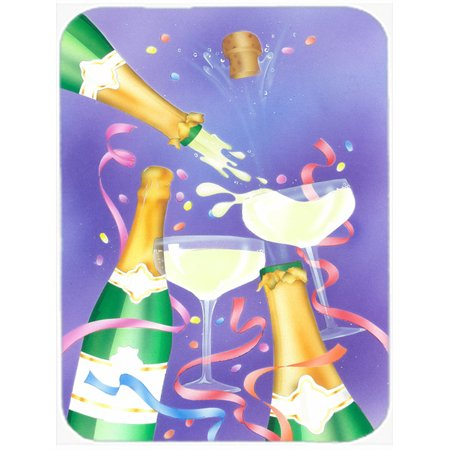 Celebrate New Years Toast Glass Cutting Board Large APH8555LCB