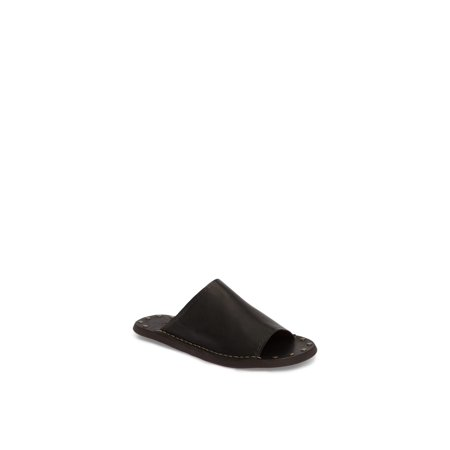 See By Chloé Womens Leila Leather Open Toe Casual Slide, Black, Size 7.0 . Buy with confidence!