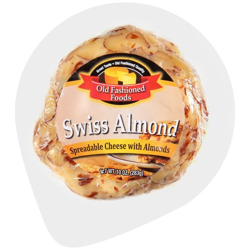 Old Fashioned Swiss Almond Cheese Spread