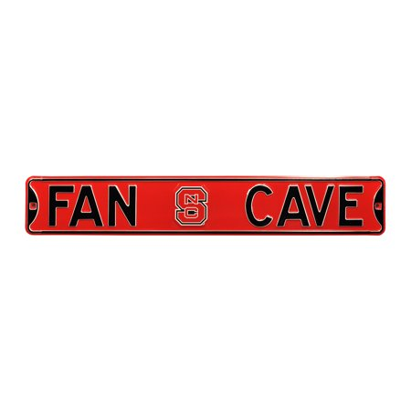 North Carolina State Wolfpack Fan Cave Street Sign