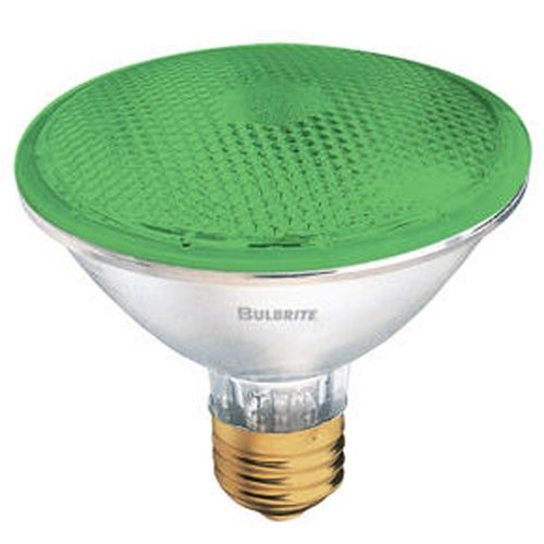 Bulbrite Industries 75W Green 120-Volt Halogen Light Bulb (Set of 4)