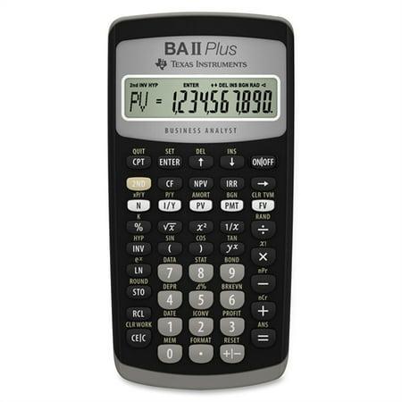 Texas Instruments TI-BA II Plus Advanced Financial Calculator (Ti Ba Ii Plus Professional Vs Plus)