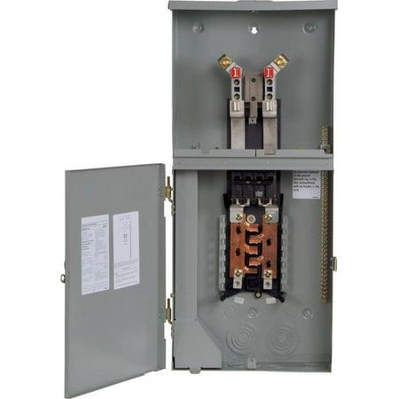 Siemens MC0816B1200RCT 1 Pole Meter Combo L/C, 8S 16C 200A ()