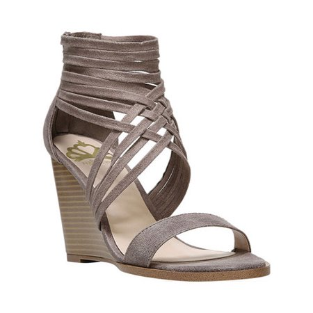 4c24747af462 Fergie Shoes - Womens Fergalicious Hunter Strappy Wedge Sandals
