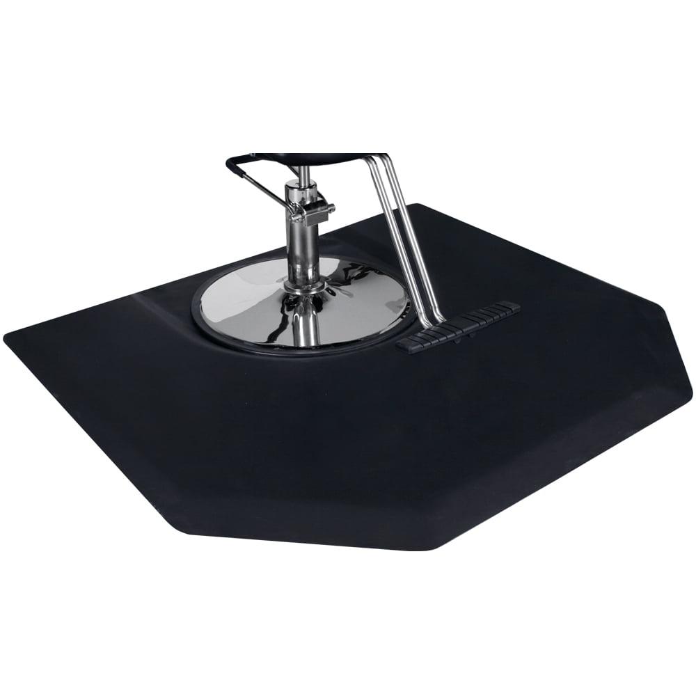 Saloniture 3 ft Black Rectangle Salon /& Barber Shop Chair Anti-Fatigue Floor Mat 1//2 in Thick x 5 ft 2 Pack MAT-SALON-R11/_02