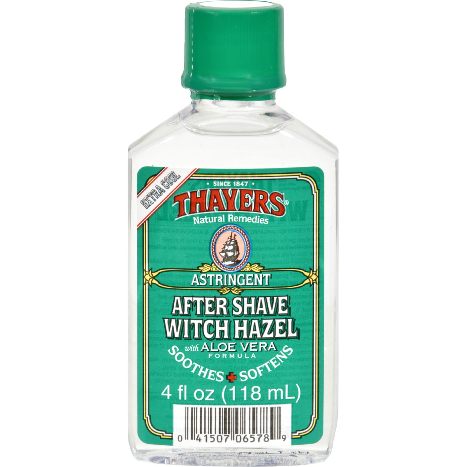Thayers After Shave - Witch Hazel Aloe Vera - 4 oz