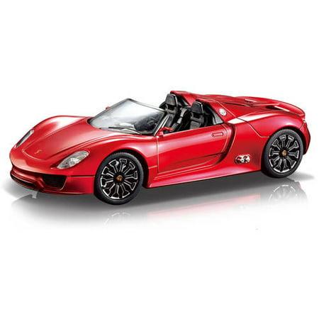 Porsche Spyder 1:24 R/C Car, Red