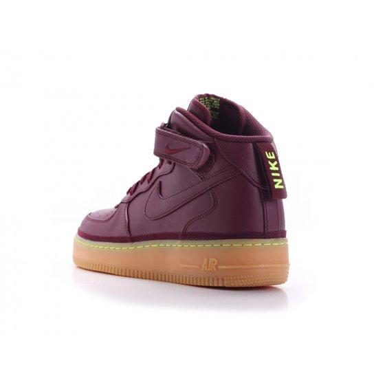 Nike Men's Air Force 1 Mid '07 LV8 Sneakers Shoes-Night Maroon - Walmart.com