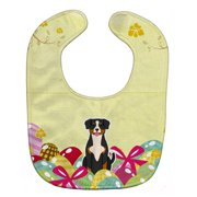 Easter Eggs Entlebucher Baby Bib BB6038BIB
