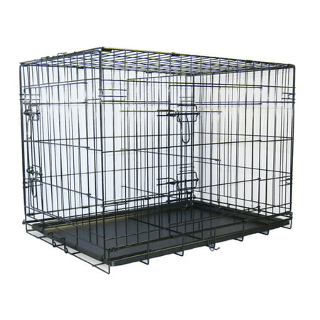 Go Pet Club Metal Cage with Divider Rottweiler Kennel Club