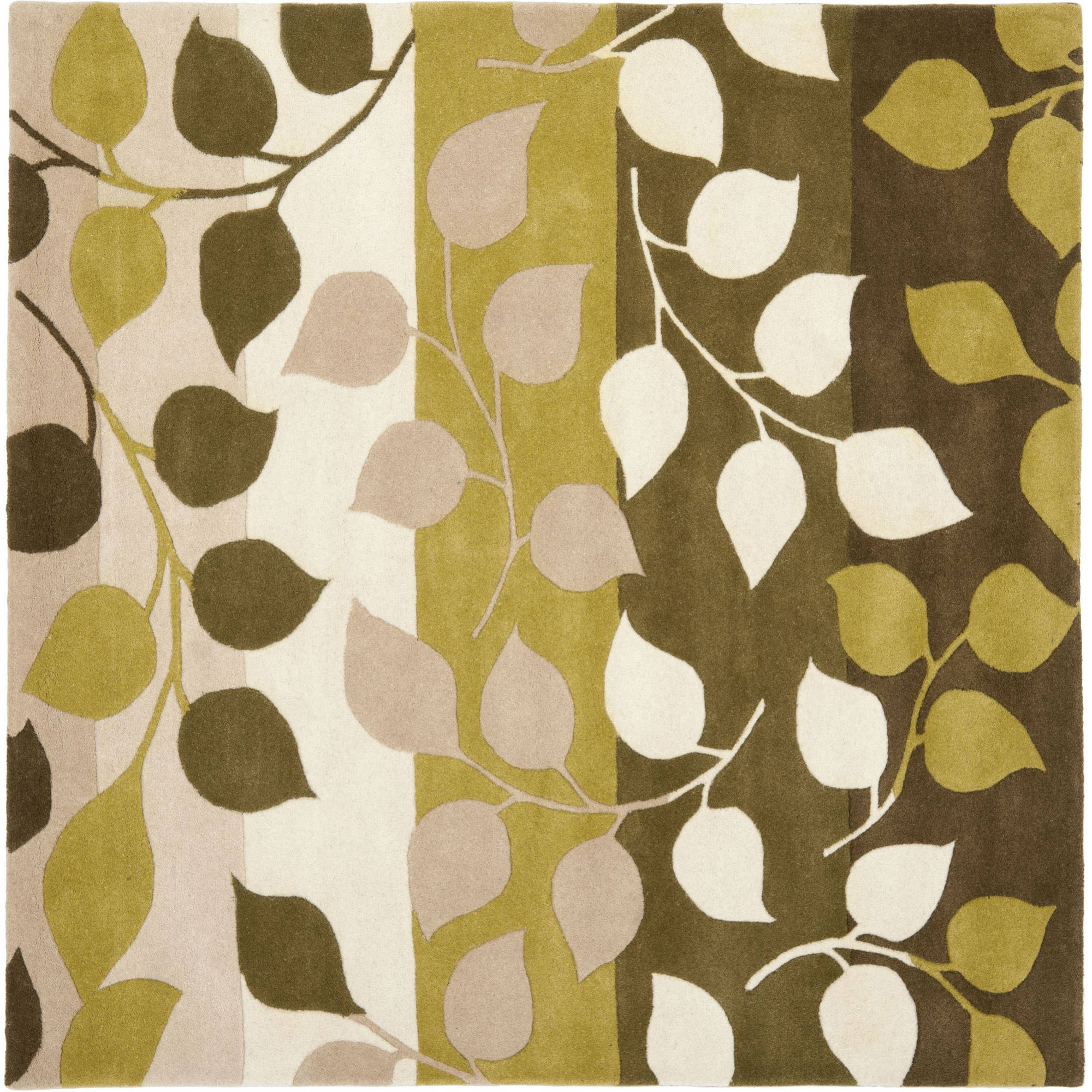 Safavieh Hand-Tufted Wool Area Rug, Green/Beige