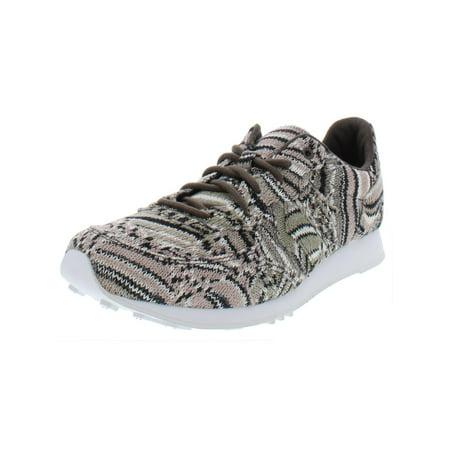 Converse Womens Aukland Racer Ox Printed Casual Shoes Gray 10.5 Medium (B,M) ()