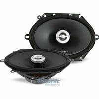 "Infinity PR8602cf 120W RMS 6"" x 8""/5"" x 7"" Primus Series Coaxial Car Speakers"