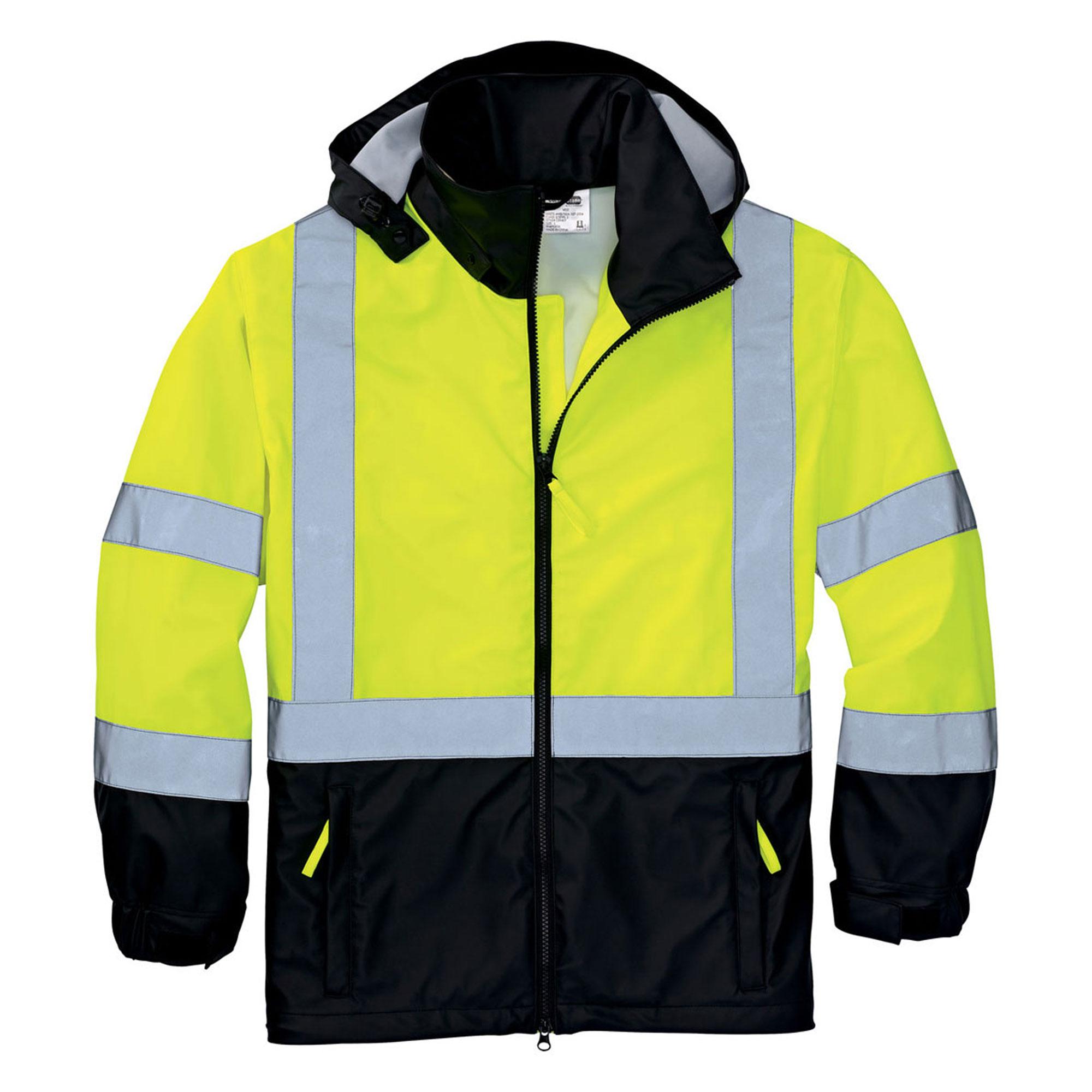Cornerstone Men's Waterproof Safety Windbreaker Jacket