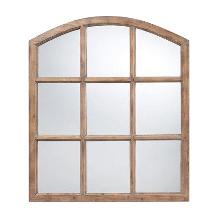 Sterling Union Decorative Mirror In Light Oak