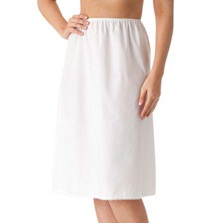 - Women's Shadowline 1090 Cool Cottons 25 Inch Half Slip