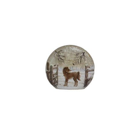 Stony Creek Glass Round Giant - Ponies